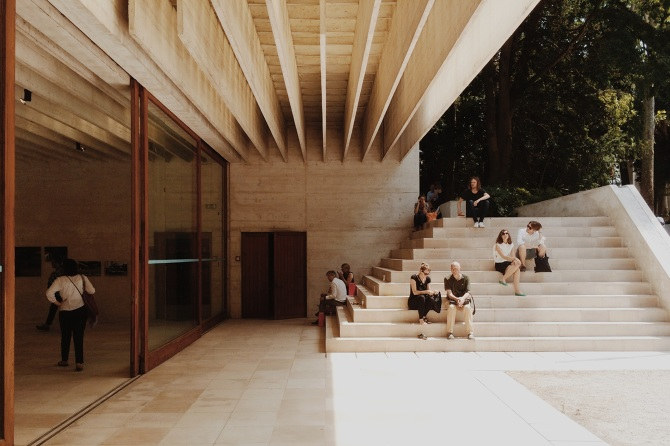 Nordic Pavilion Sverre Fehn From One Backyard To Another
