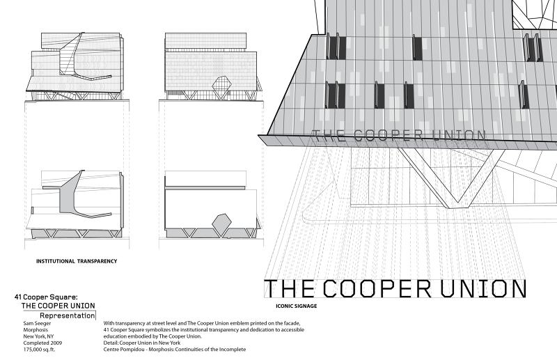 cooper union analysis - samuel seeger: architectural works