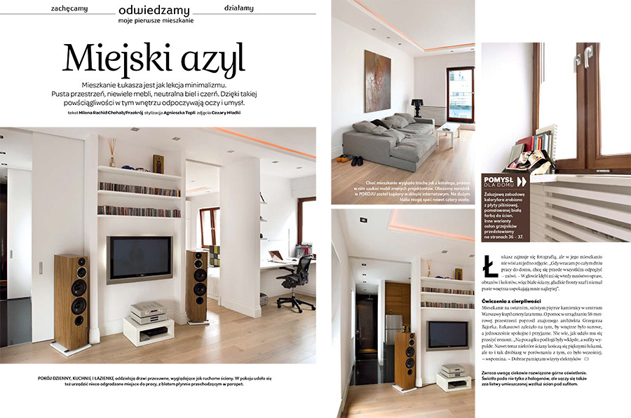Identification And Layout Of The New Interior Design Magazine Edited By LEROY MERLIN Know In France As Du Ct De Chez Vous