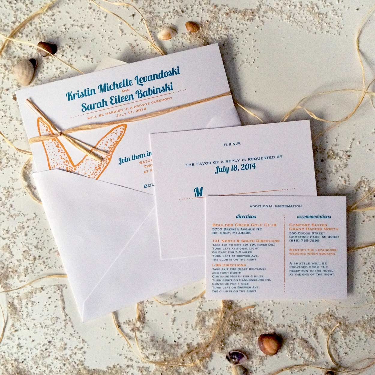 wedding invitations - Imagined by Victoria